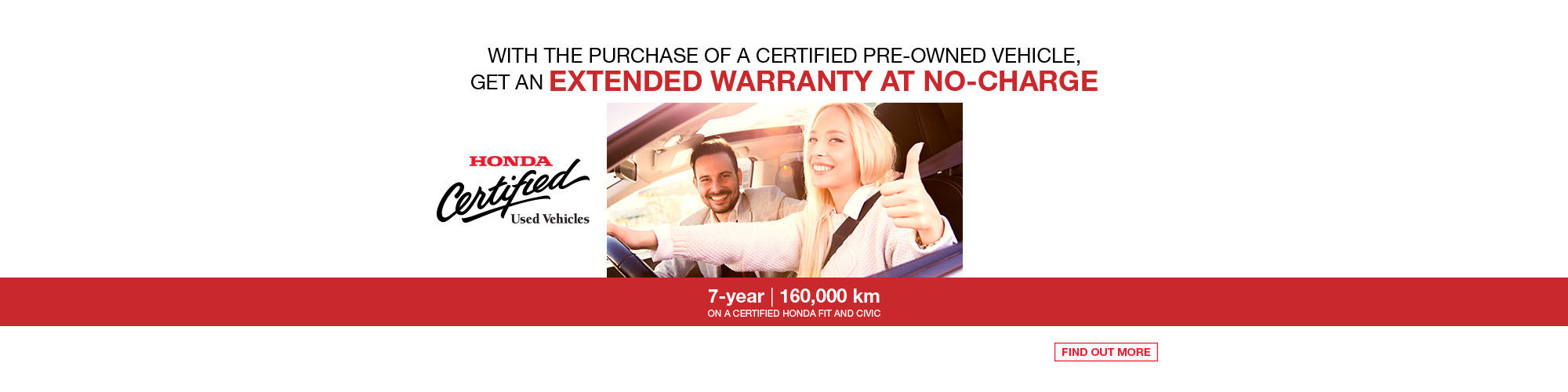 Honda - extended warranty Fit and Civic