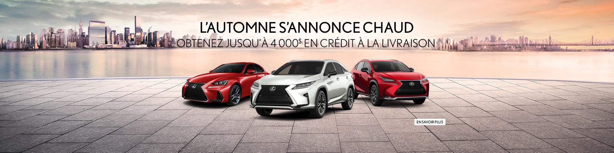 Lexus - Promo Septembre
