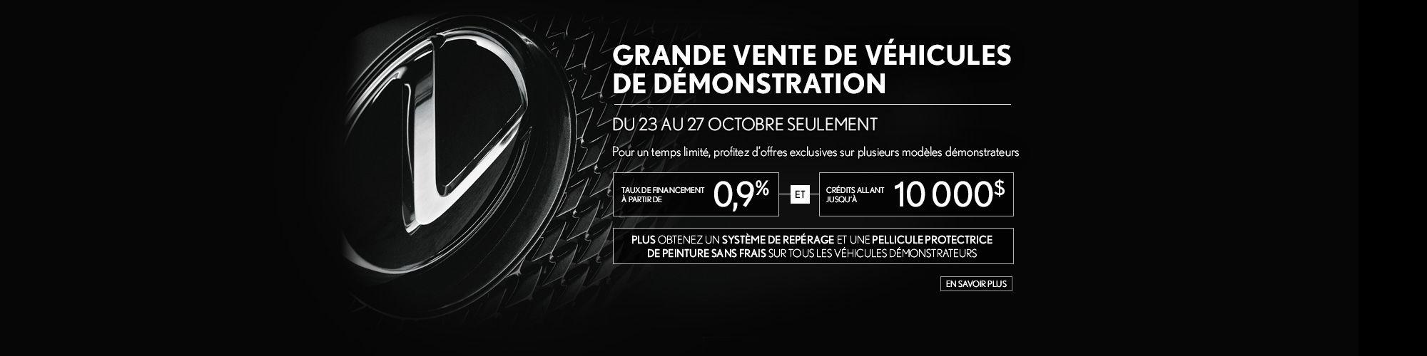 Lexus - demo octobre