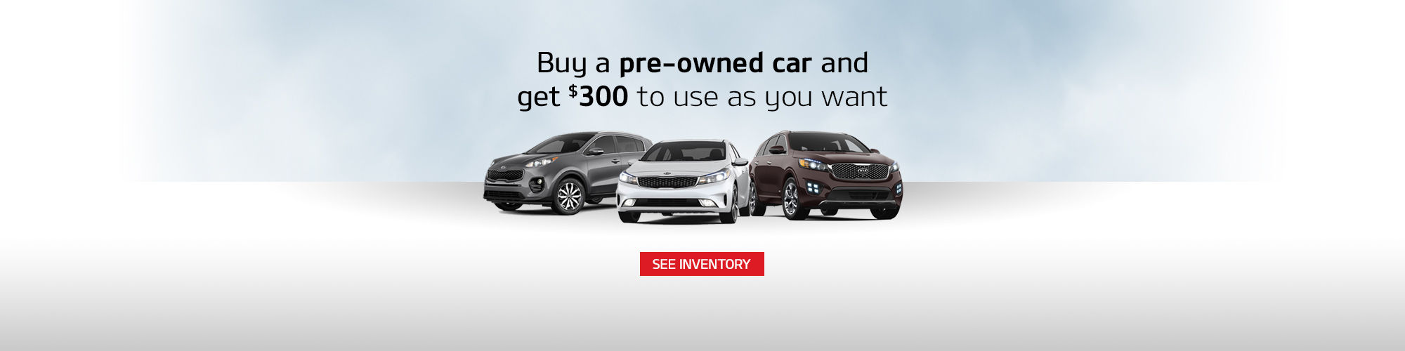 Kia Pre-Owned Vehicle Promotion