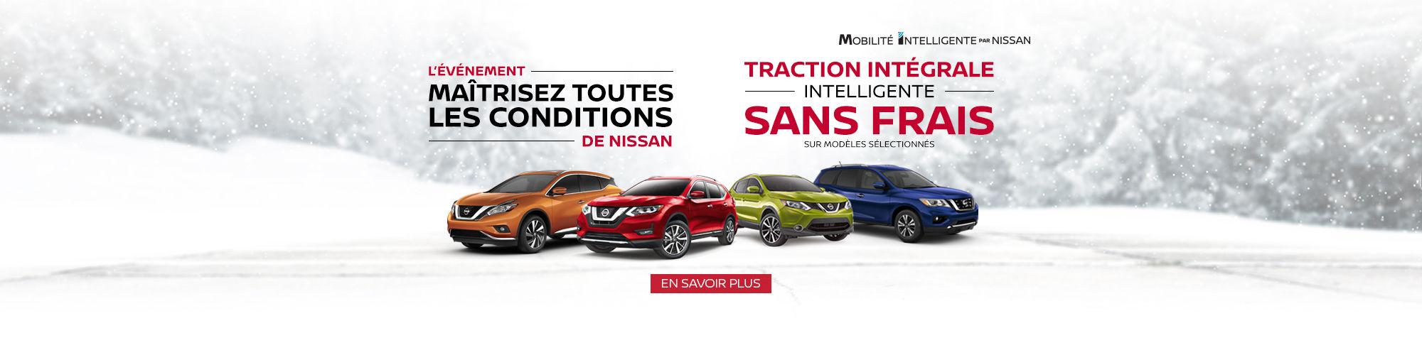 Nissan - Traction Intégrale