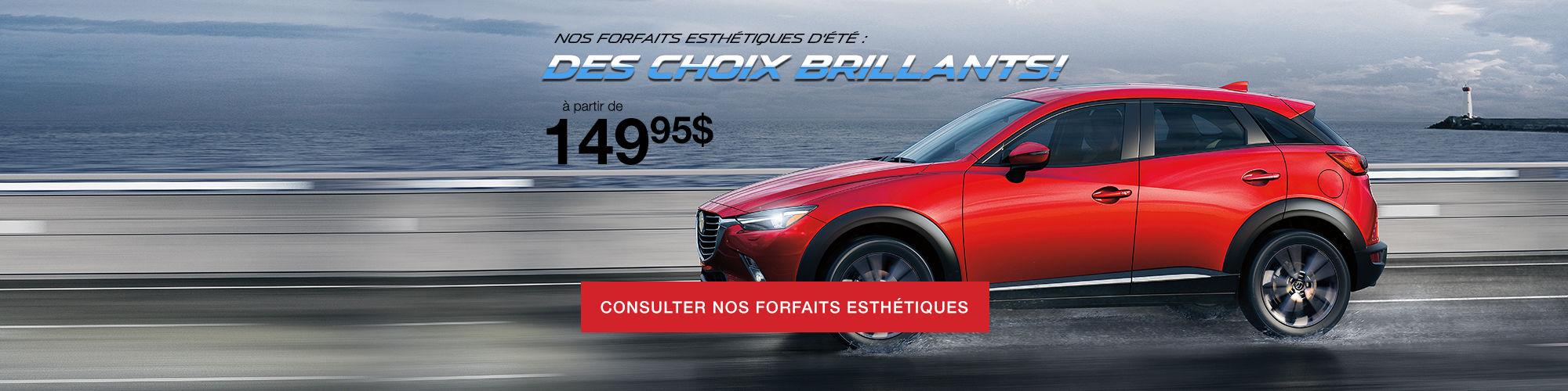 Promo esthétique été Mazda