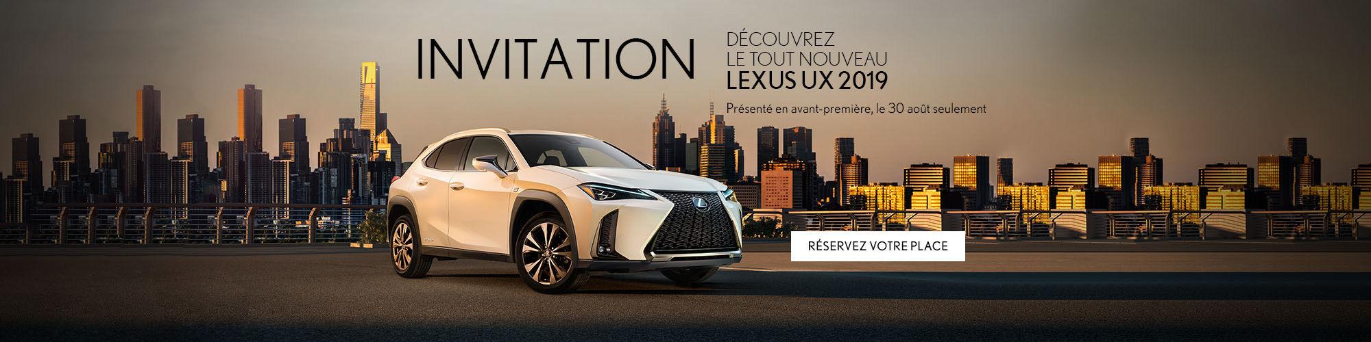 Lexus UX 2019 - Lexus Pointe-Claire