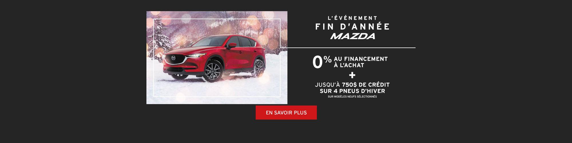 Événement fin d'année Mazda