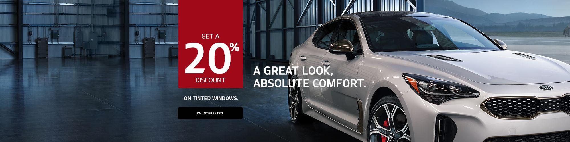 Kia's Tinted Windows Promo