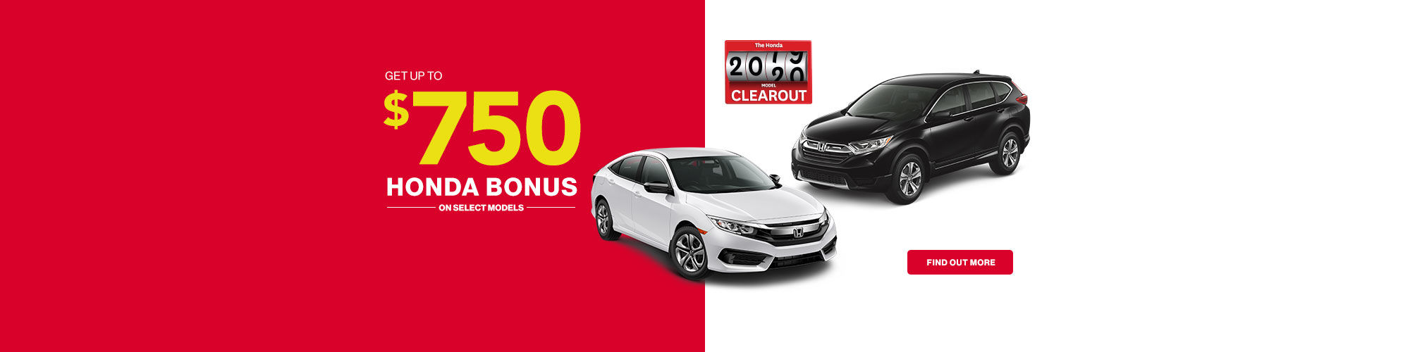 Honda Clearout Sales Event