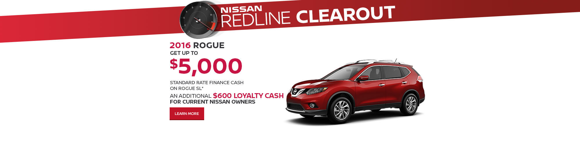 Redline Clearout Promo September-Rogue
