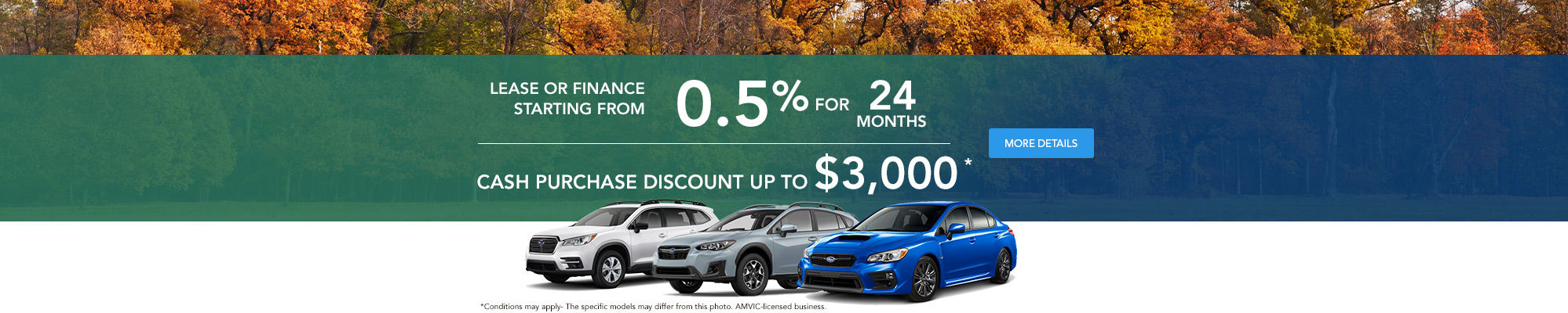Subaru City monthly event