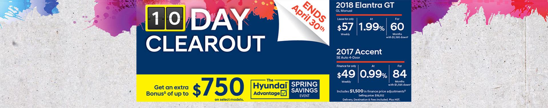 Hyundai Advantage Springs Savings Event - web