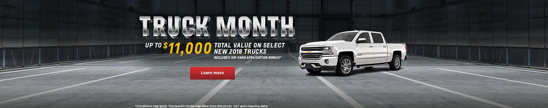 Truck Month - Chevrolet