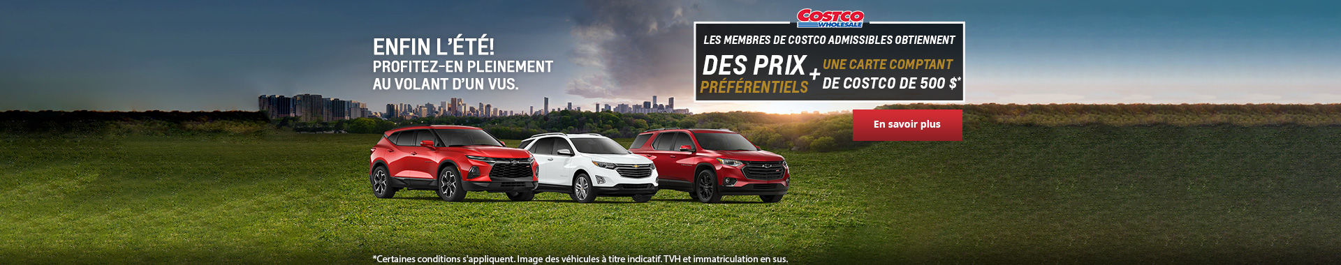 L'événement mensuel Chevrolet!
