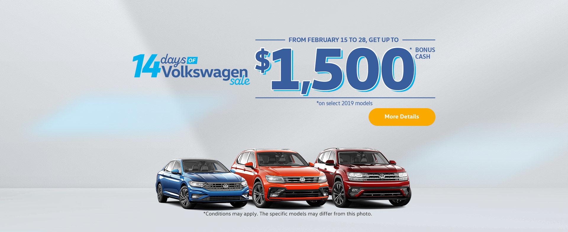 The 14 Days of Volkswagen Sale