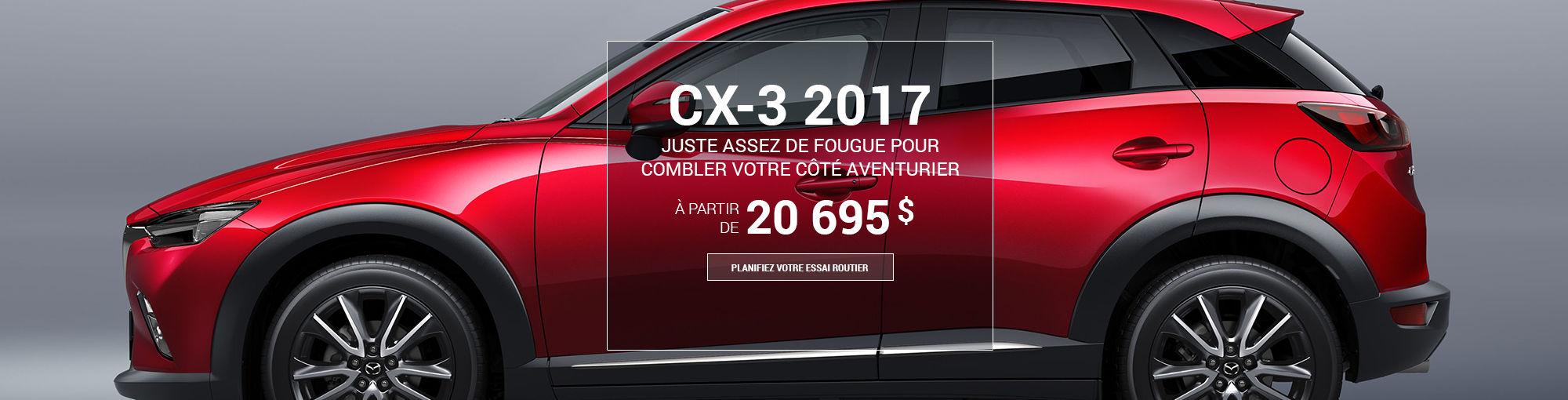 CX3 2017 - DÉBUT MOIS