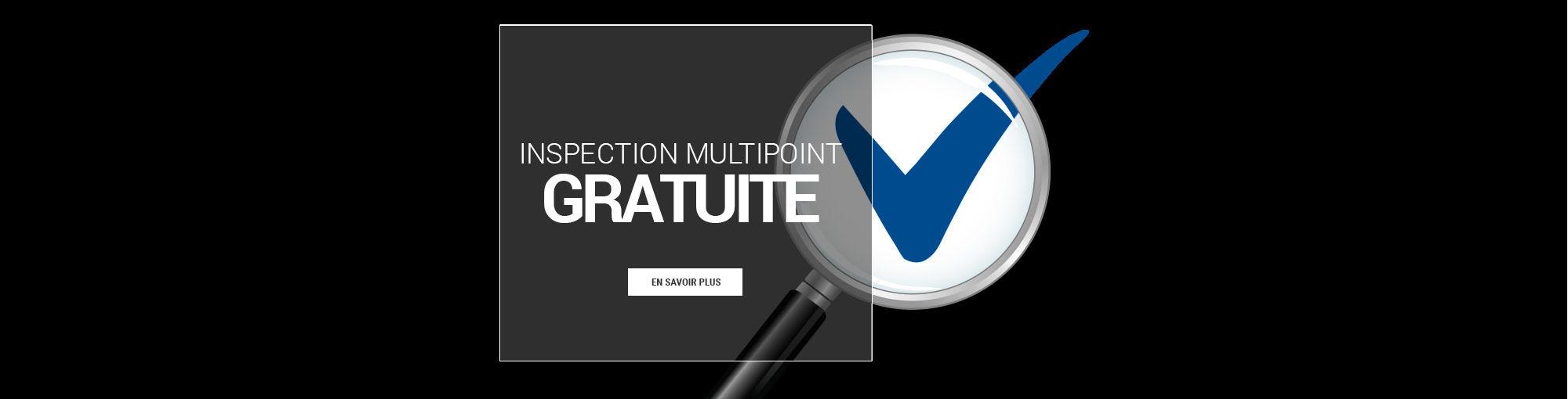 Inspection multipoint GRATUITE