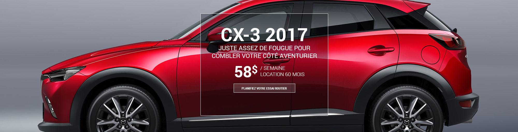 CX3 2017 - septembre 2016