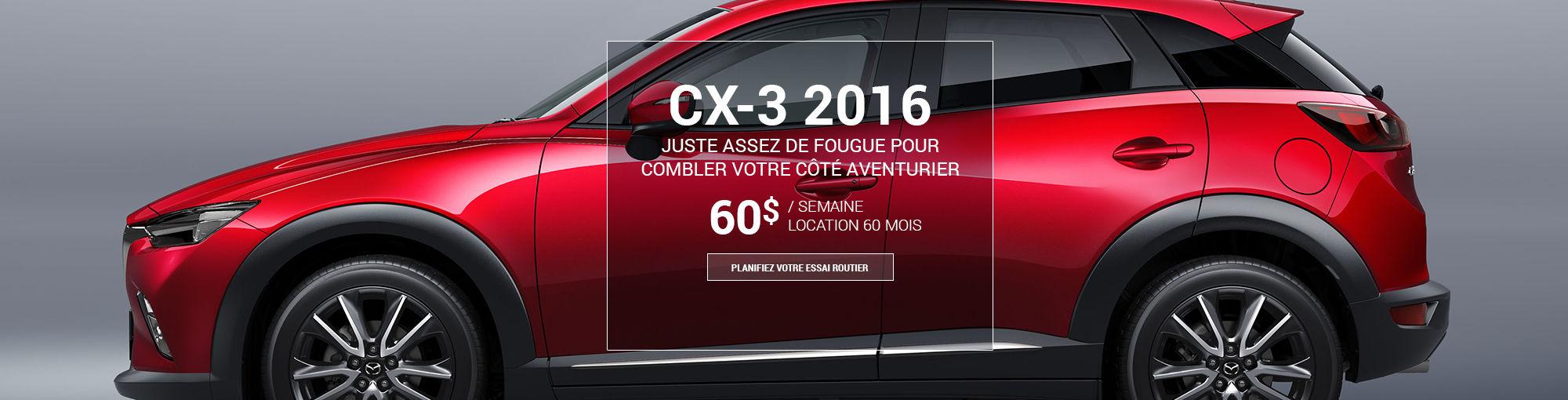 CX3 2016 - août 2016