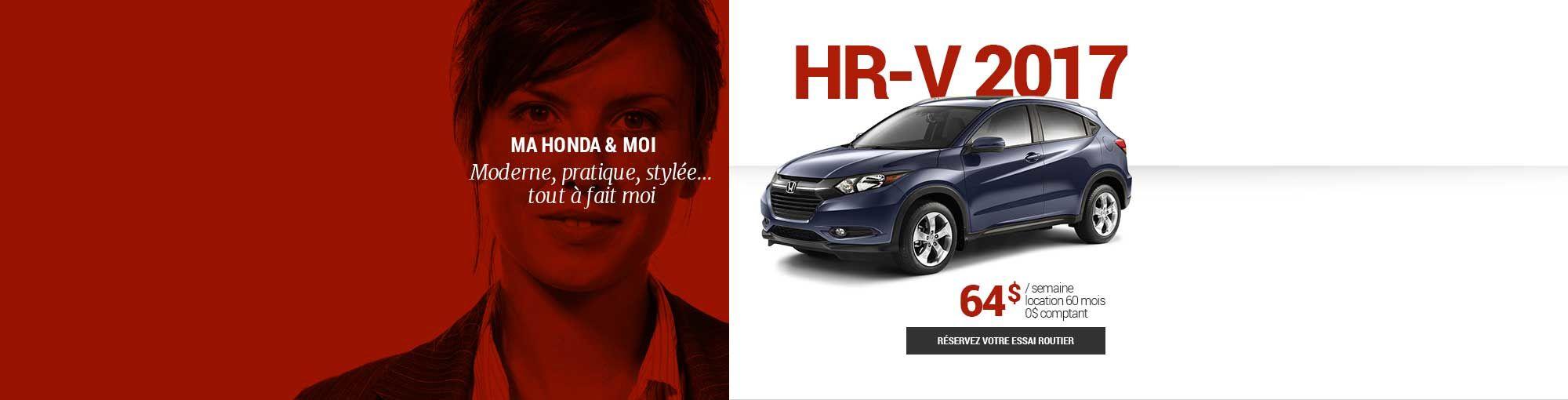 HR-V 2017 - avril 2017