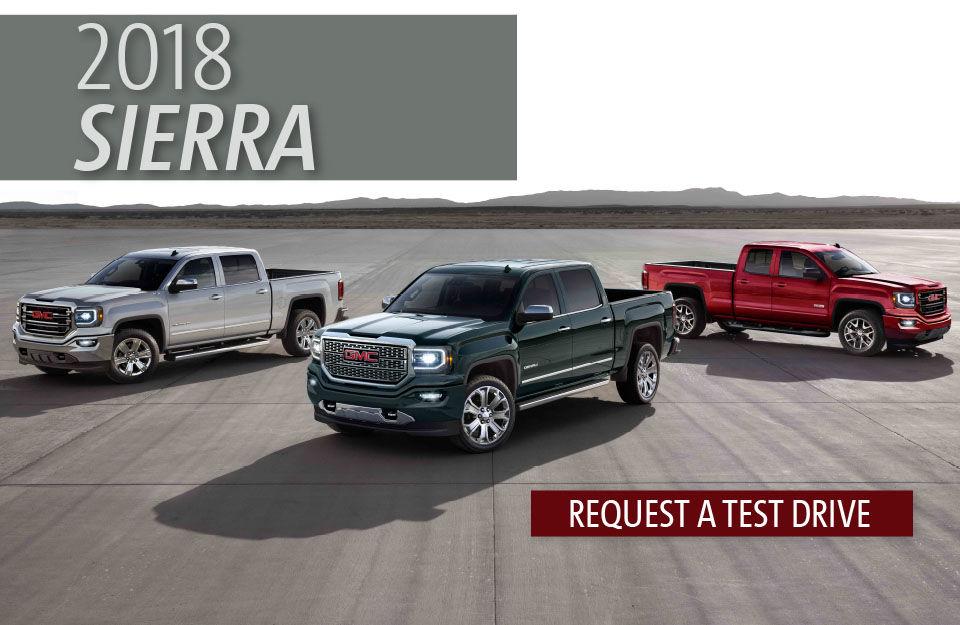 The new 2018 Sierra