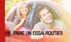 Planifier<br/>un essai routier