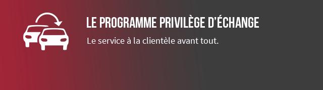 Exchange Privilege Program