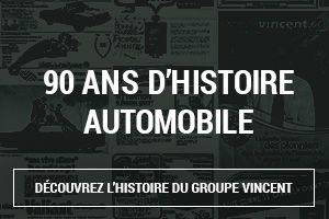 90 ans d'histoire automobile chez Groupe Vincent