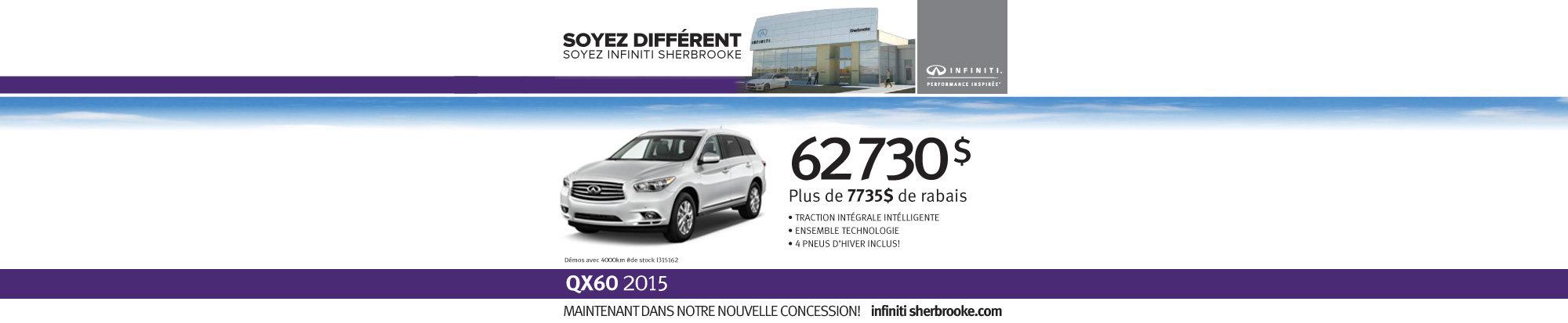 QX60 2015 - Mai