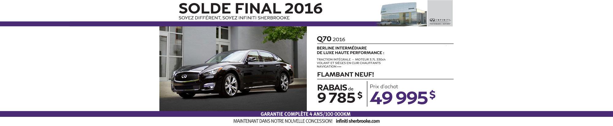 Q70 - Aout