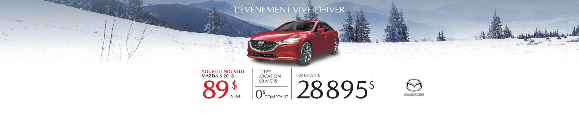 Nouvelle Nouvelle Mazda6 2018 !