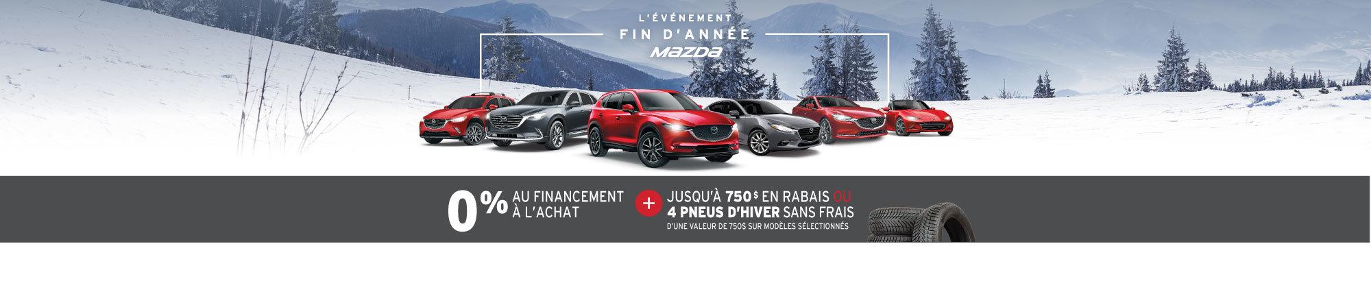 L'ÉVÉNEMENT FIN D'ANNÉE AU GROUPE BEAUCAGE MAZDA! web