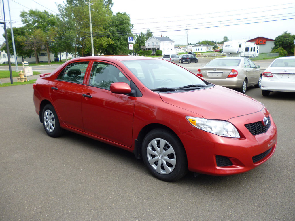used 2010 toyota corolla ce in caplan used inventory toyota baie des chaleurs in caplan quebec. Black Bedroom Furniture Sets. Home Design Ideas