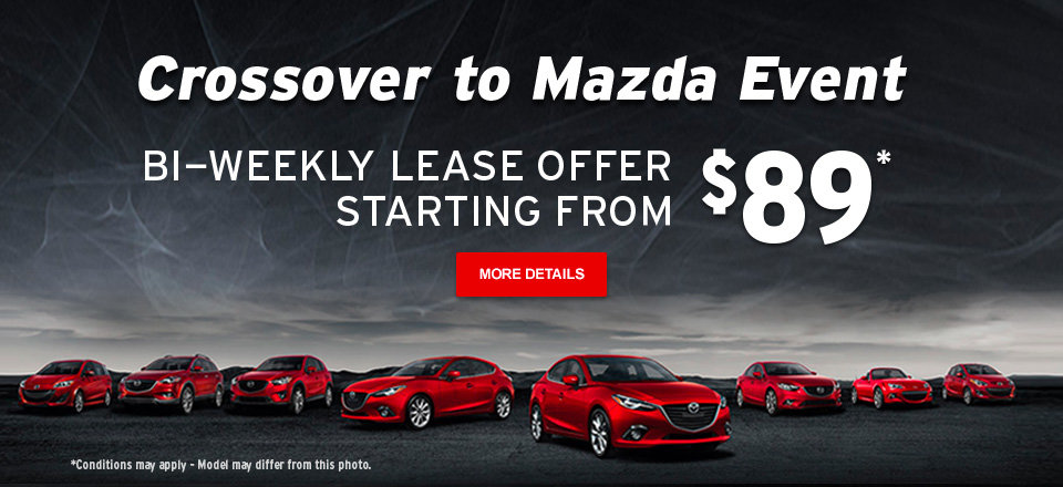 Crossover to Mazda Event