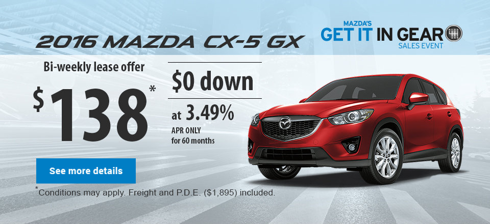 Get it in gear event - 2015 mazda CX-5