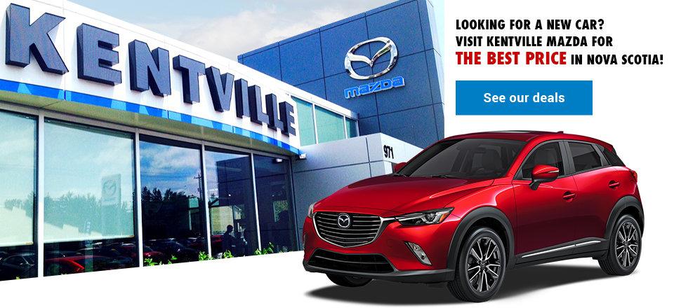 Kentville Mazda storefront