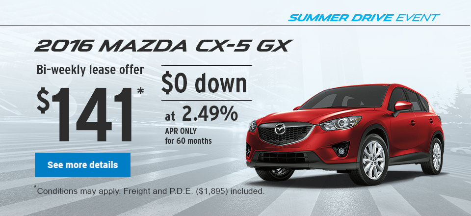 Summer Drive Event - CX-5