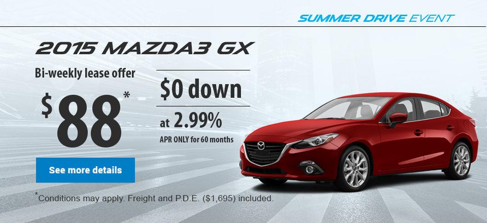 Summer Drive Event - Mazda3