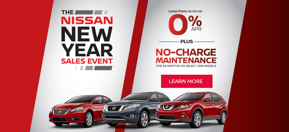 Nissan New Year Promos