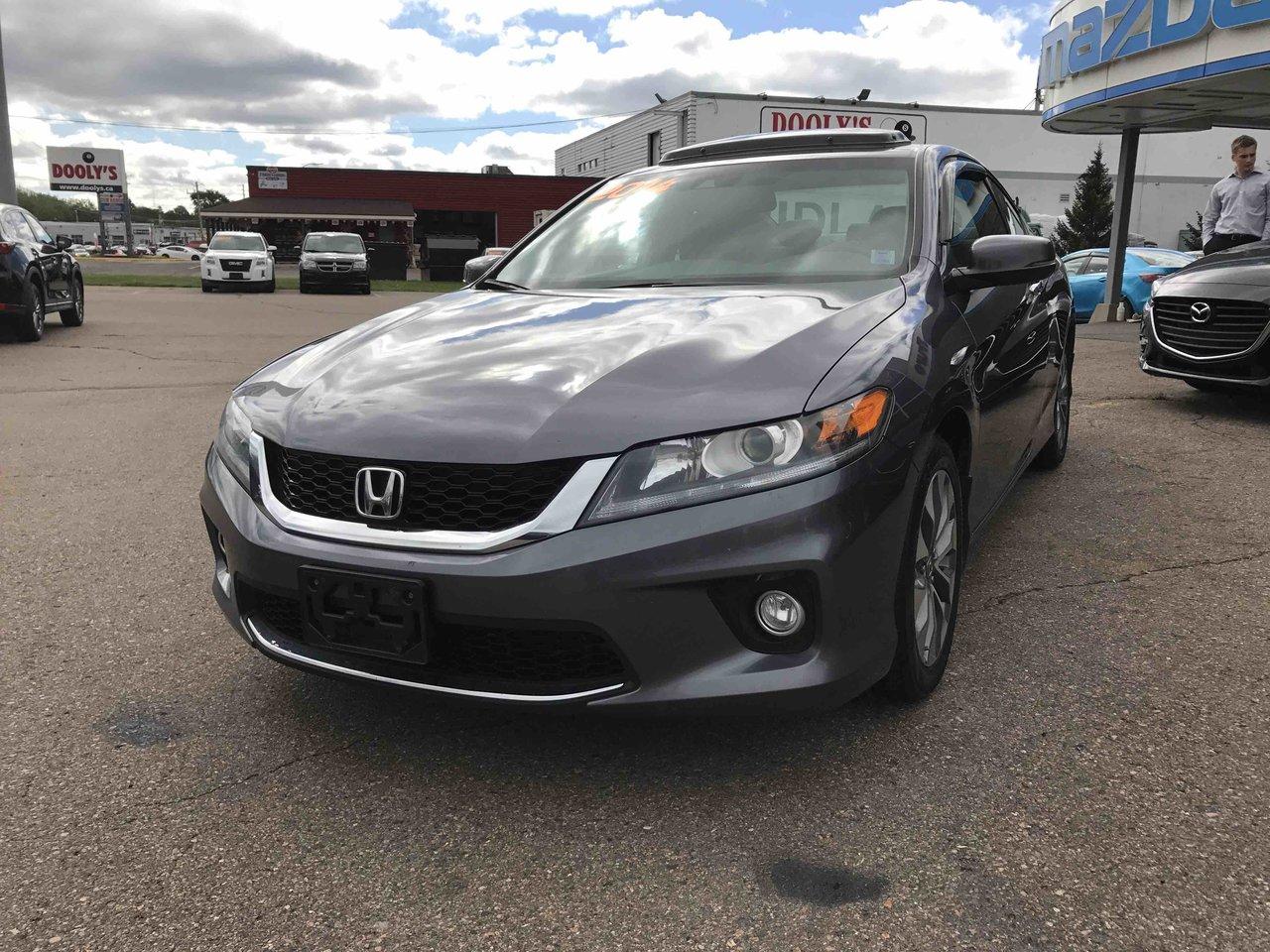 Photo 2014 Honda Accord Coupe EX-L! NAV! LEATHER! NEW TIRES! EX-L! NAV! LEATHER! NEW TIRES!
