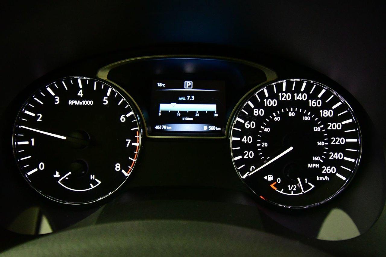 Photo 2016 Nissan Altima 2.5S. Fog lamps. Low kilometers. Low kilometers