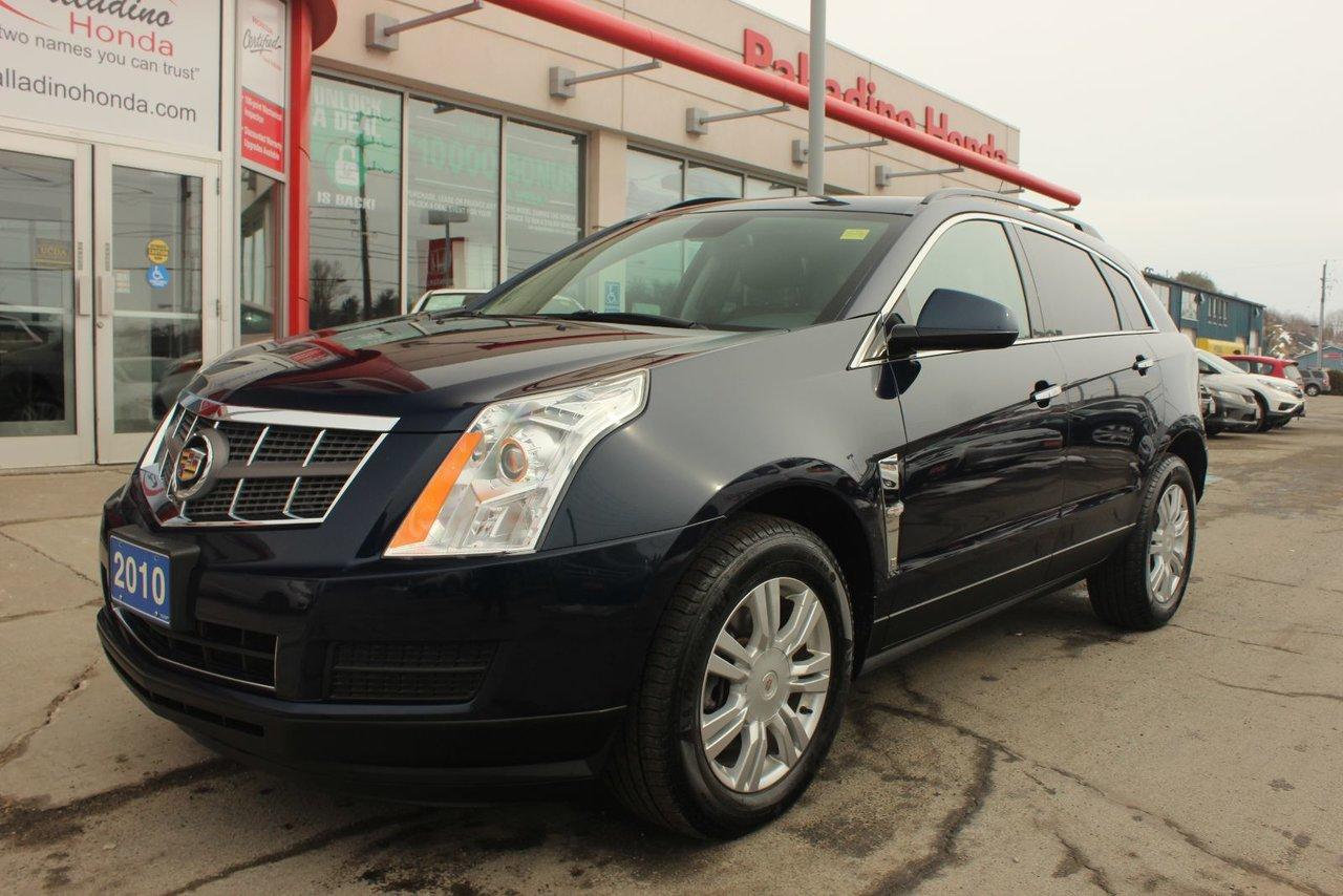2010 cadillac srx 3 0 base bluetooth awd sport utility leather for sale pre owned. Black Bedroom Furniture Sets. Home Design Ideas