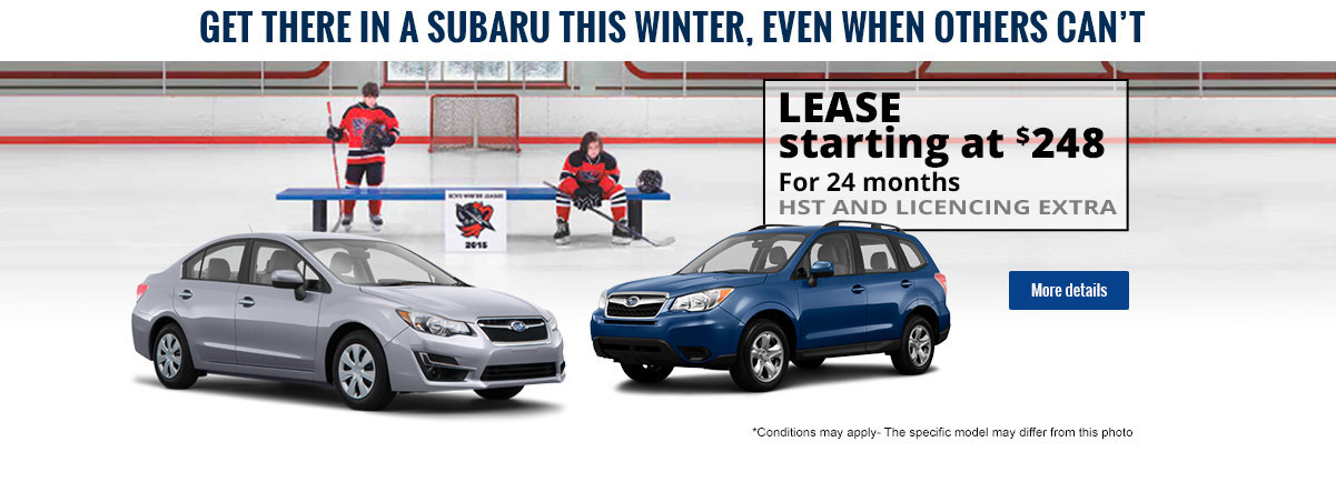 Get there in a Subaru this winter!