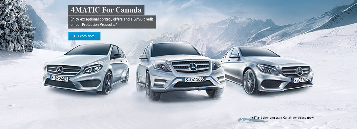 4MATIC For Canada