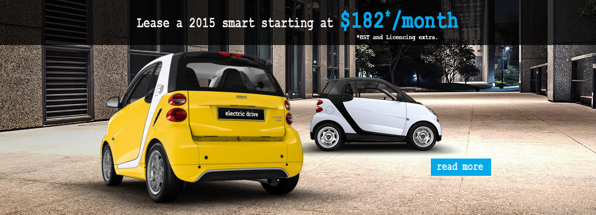 Lease a 2015 smart for only $182/month