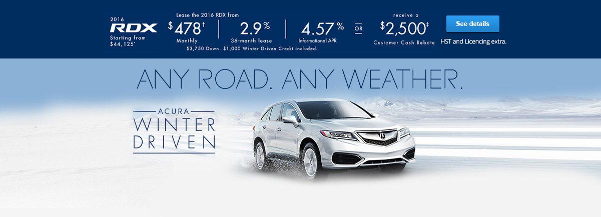 It's driving season - RDX