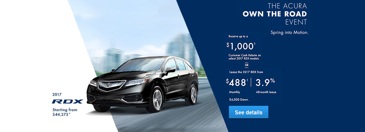 Own the road Promo May RDX
