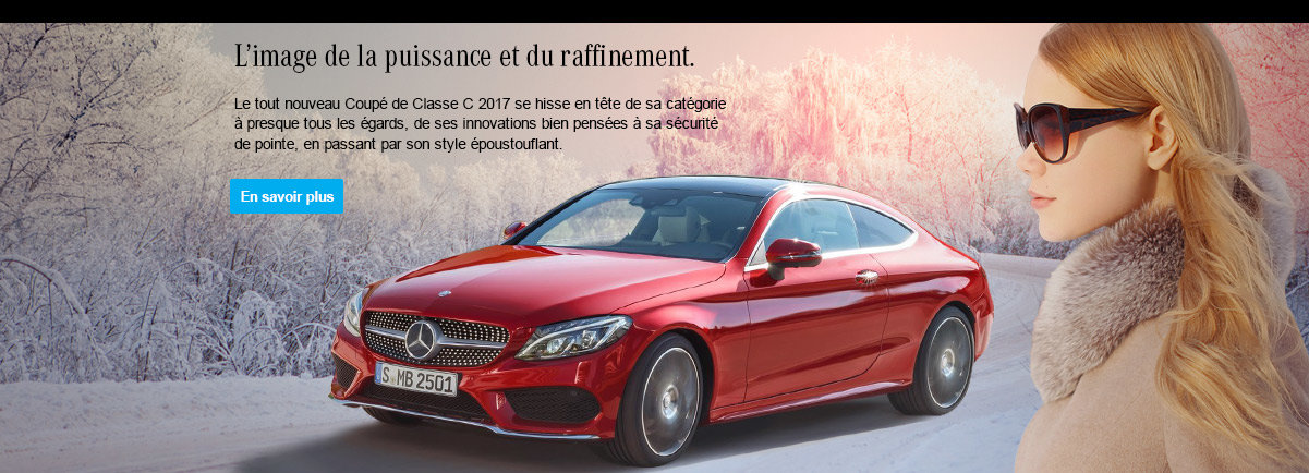 Mercedes-Benz Classe C Coupé 300 4MATIC 2017