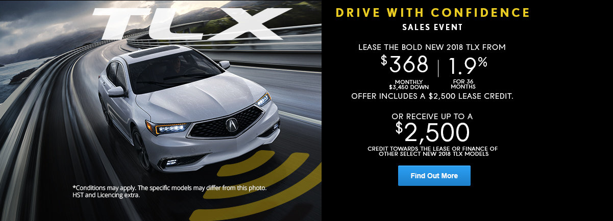 Drive With Confidence - TLX