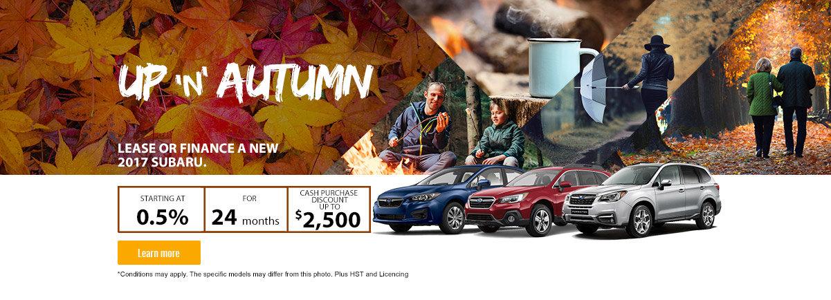 Subaru Sales Event - October
