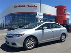 2012 Honda Civic Sdn LEATHER ROOF NAVIGATION AFFORDABLE LUXURY