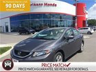 2014 Honda Civic LX,HEATED SEATS, BLUETOOTH,CRUISE CONTROL NO ACCIDENTS, ONE OWNER