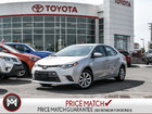 2016 Toyota Corolla LE: BLUETOOTH, HEATED SEATS, BACK UP CAM Dependable and Fuel Efficent